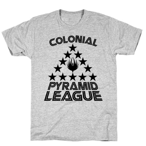 Colonial Pyramid League T-Shirt