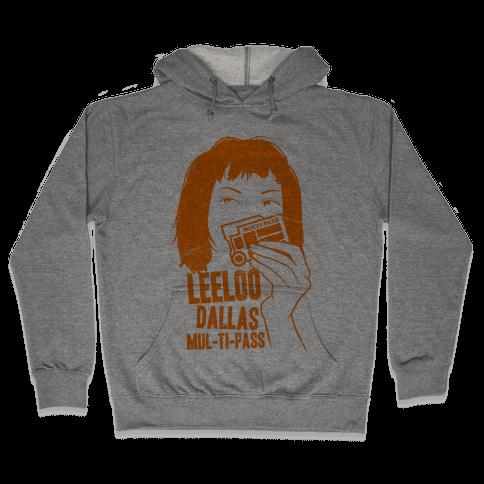 Leeloo Dallas Multipass Hooded Sweatshirt