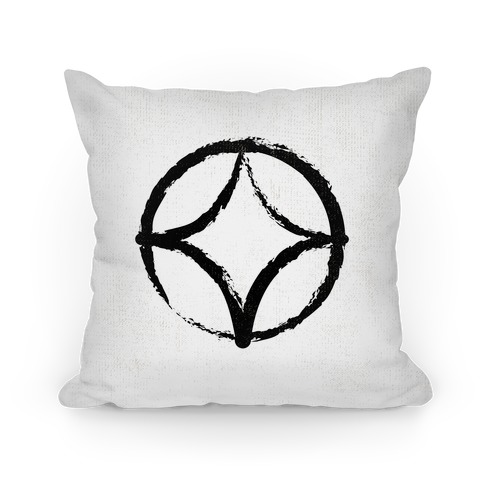 Caesar's Army Pillow White Pillow