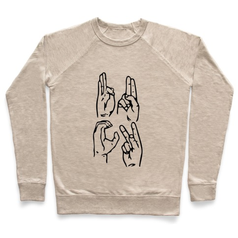 Sign Language F.U.C.K. Pullover