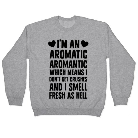 I'm An Aromatic Aromantic Pullover