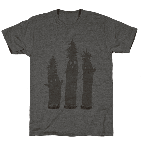 Friendly Tree Spirits Mens T-Shirt