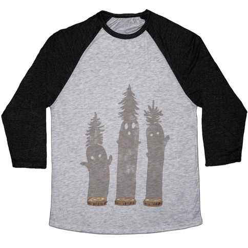 Friendly Tree Spirits Baseball Tee
