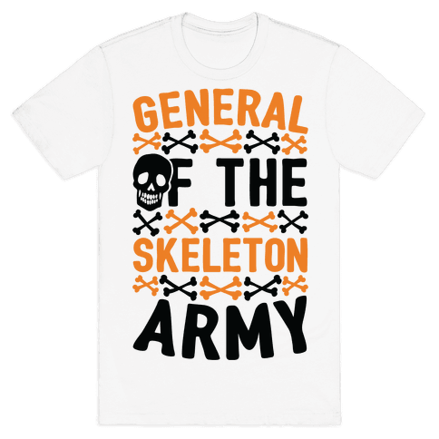General Of The Skeleton Army Mens T-Shirt