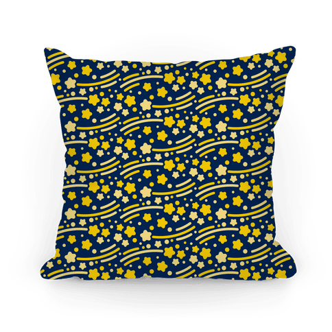 Shooting Stars Pattern Pillow