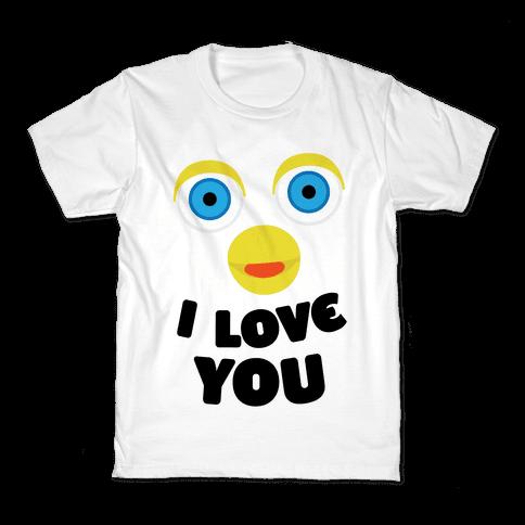 Furby Loves You Kids T-Shirt
