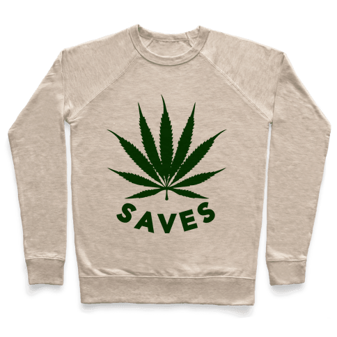 Weed Saves Pullover