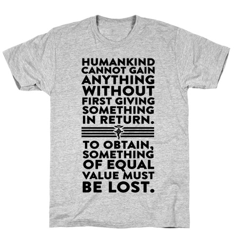 The First Law of Alchemy T-Shirt