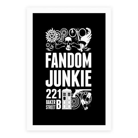 Fandom Junkie Poster