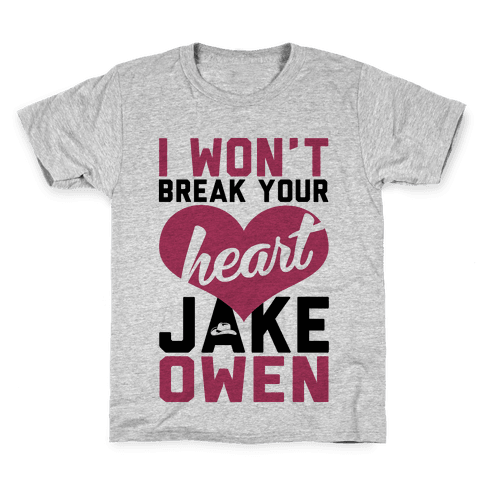 Don't Break His Heart Kids T-Shirt