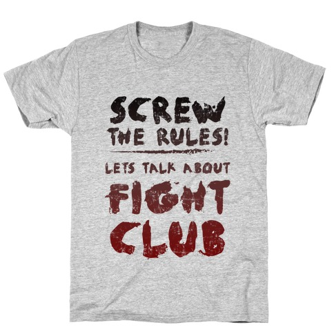 Let's Talk About Fight Club T-Shirt