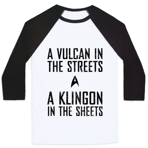 A Vulcan In The Streets (Vintage) Baseball Tee