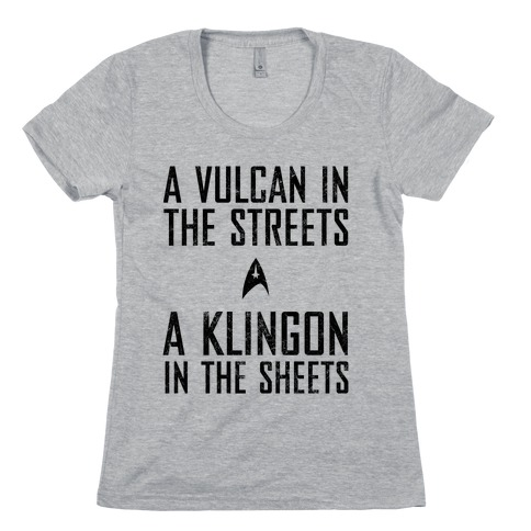 A Vulcan In The Streets (Vintage) Womens T-Shirt