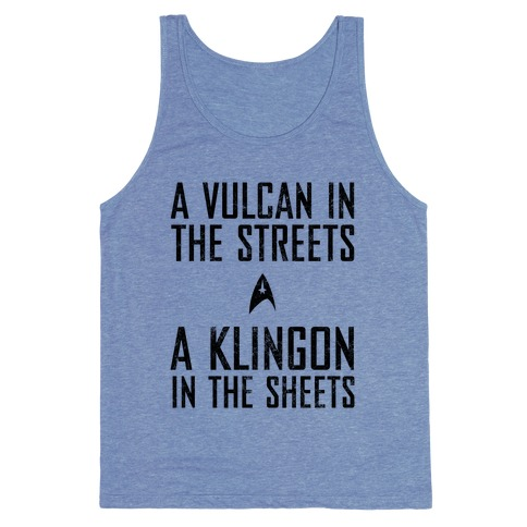 A Vulcan In The Streets (Vintage) Tank Top