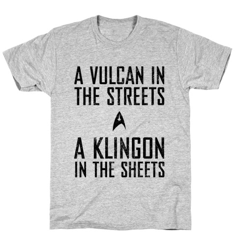 A Vulcan In The Streets (Vintage) T-Shirt