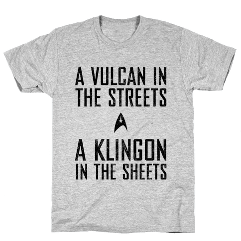 A Vulcan In The Streets (Vintage) Mens T-Shirt