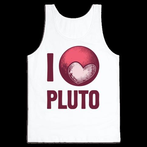 I Heart Pluto Tank Top