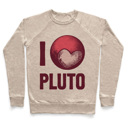 I Heart Pluto Pullover