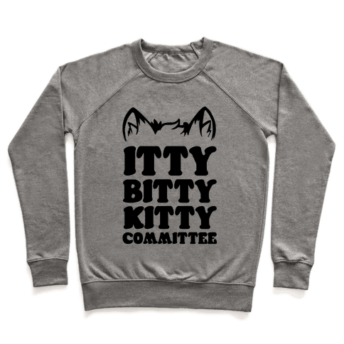 Itty Bitty Kitty Committee Pullover