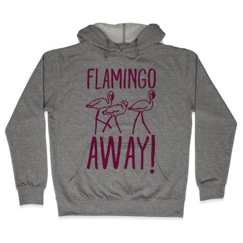 Flamingo Away Hooded Sweatshirt