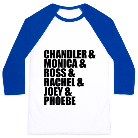 Friends Baseball Tee