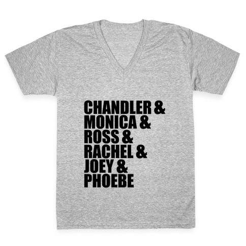 Friends V-Neck Tee Shirt