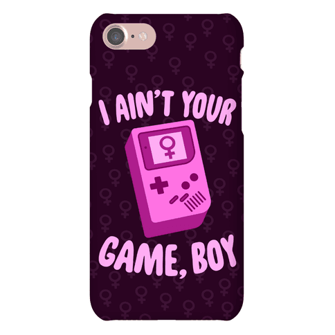 I Ain't Your Game, Boy Phone Case