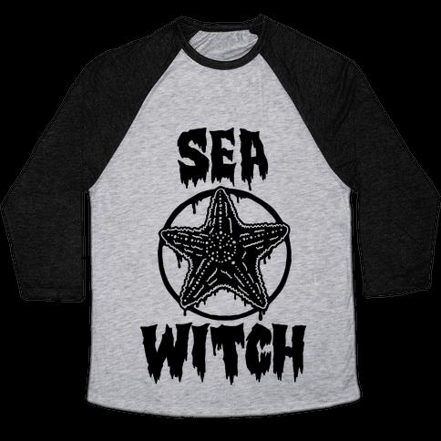 Sea Witch Baseball Tee