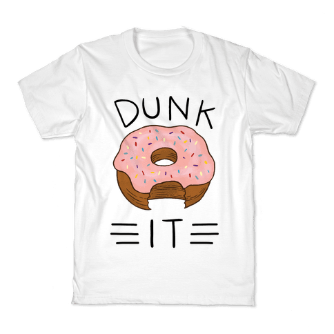 Dunk It (Donut) Kids T-Shirt
