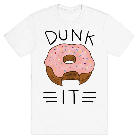 Dunk It (Donut) Mens T-Shirt