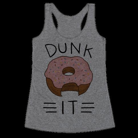 Dunk It (Donut) Racerback Tank Top