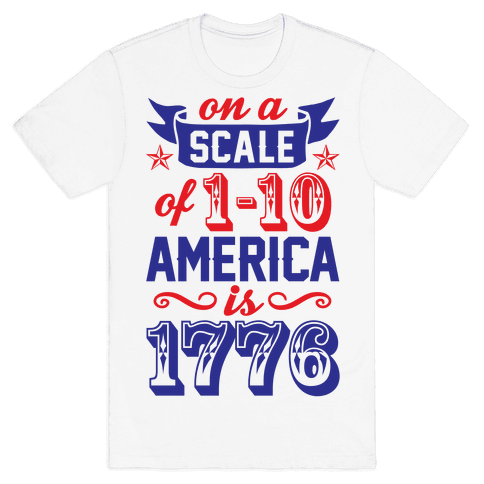 America Is 1776 Mens T-Shirt