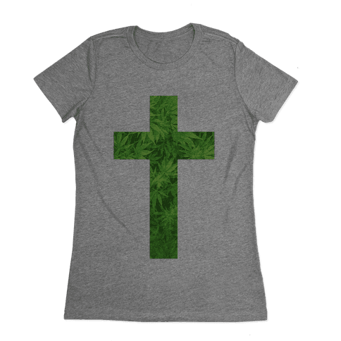Praise the Green Womens T-Shirt