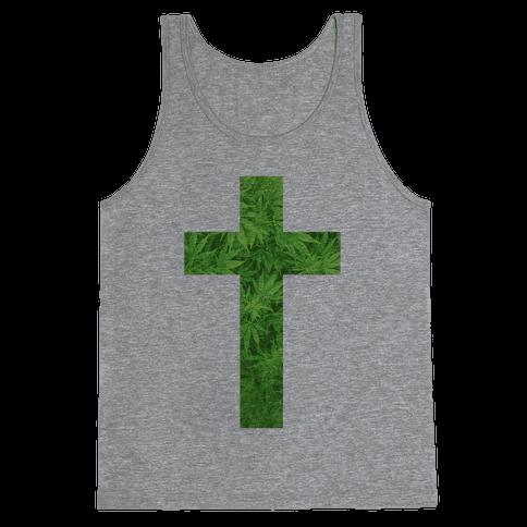 Praise the Green Tank Top