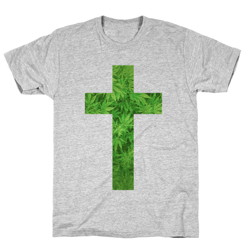 Praise the Green Mens T-Shirt