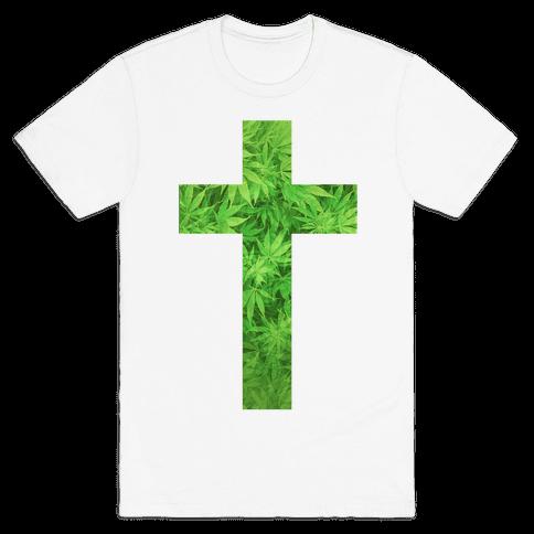 Praise the Green Mens T-Shirt