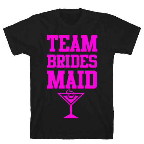 Team Bridesmaid Mens T-Shirt
