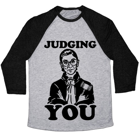 Judging You Baseball Tee