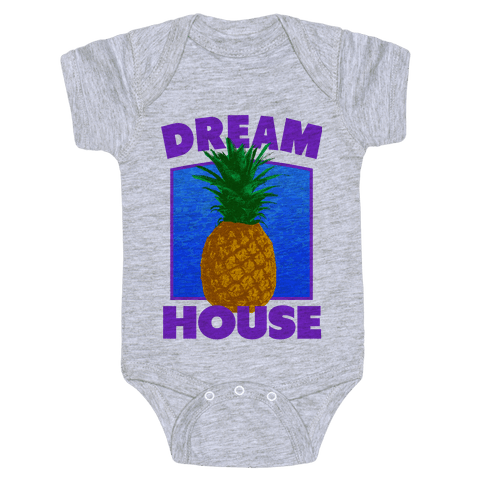 Dream House Baby Onesy