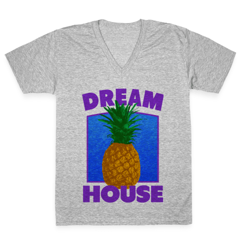 Dream House V-Neck Tee Shirt