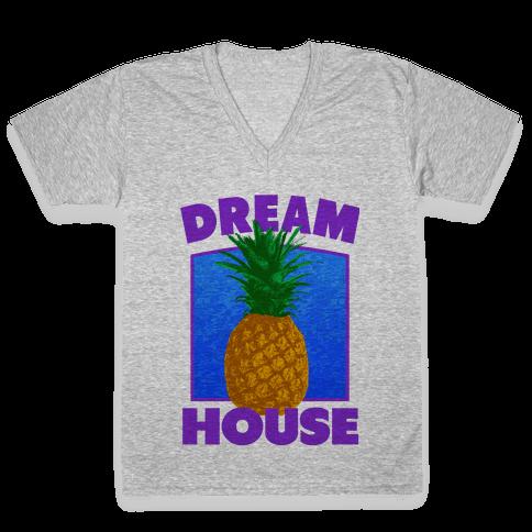 Dream House V-Neck Tee Shirt