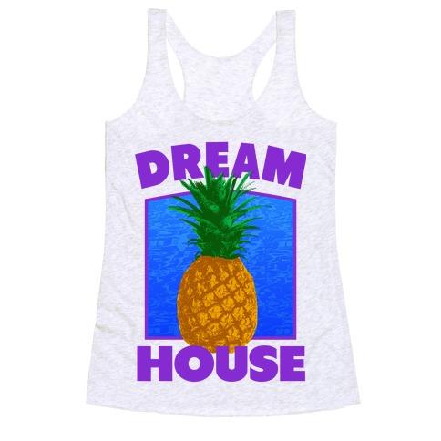Dream House Racerback Tank Top