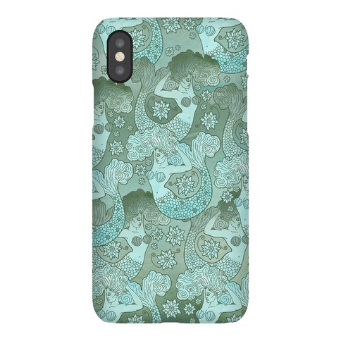 Siren and Lotus Phone Case