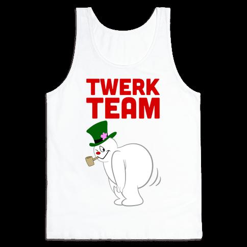 Twerk Team Tank Top