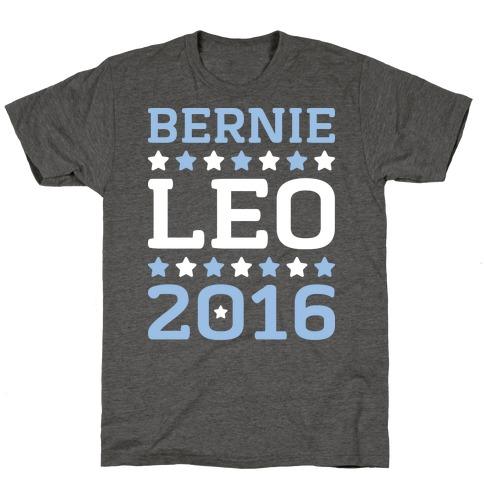 Bernie / Leo 2016 Parody T-Shirt
