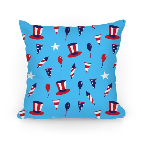 Red White and Blue Pattern