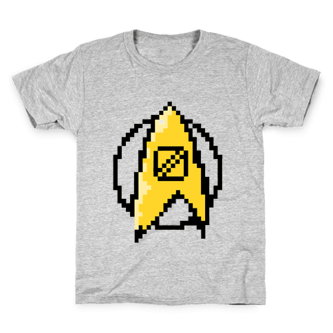 Star Trek: 8 Bit-Science Kids T-Shirt