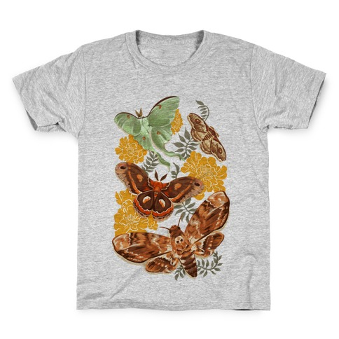 Moths & Marigolds Kids T-Shirt