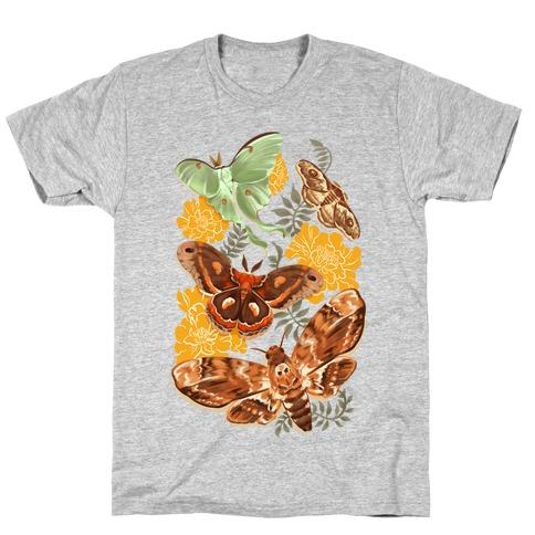 Moths & Marigolds T-Shirt