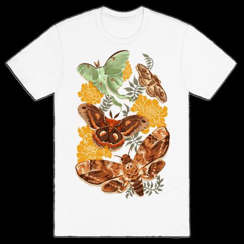 Moths & Marigolds Mens T-Shirt